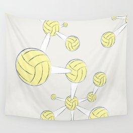 Soccer DNA Wall Tapestry