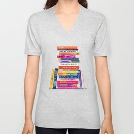Black Authored Books Unisex V-Neck