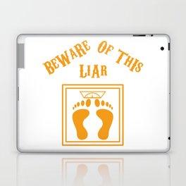 Beware of this liar Laptop & iPad Skin