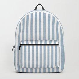 FADED BLUE DENIM STRIPES Backpack