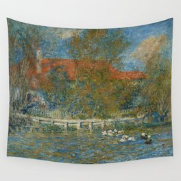 The Duck Pond Wall Tapestry