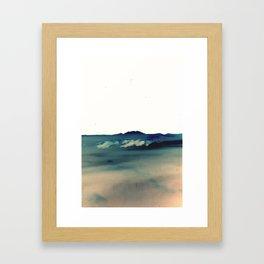 seewolken Framed Art Print