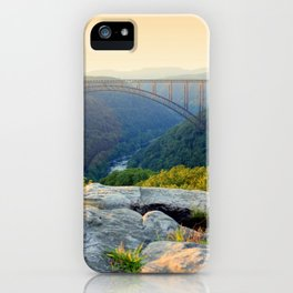 Sunset at Longpoint iPhone Case