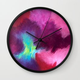 100 Days of Color: Day 9 Wall Clock