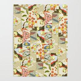 Beautiful Oriental Chinese pattern Poster