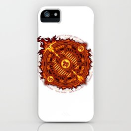 Ifrit Seal iPhone Case