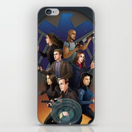 SHIELD Team In Action iPhone Skin