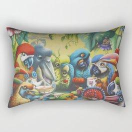 Jungle Debate Rectangular Pillow
