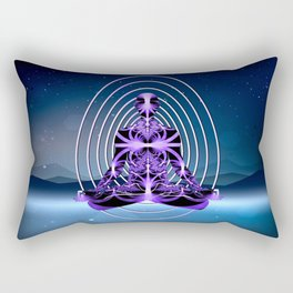 Astral Travel Mountains of Loneliness Rectangular Pillow