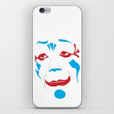 Laugh Clown Laugh iPhone & iPod Skin