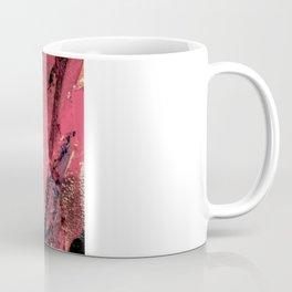 Blue on Pink Coffee Mug