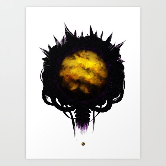 Zebes Art Print