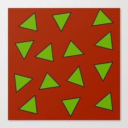 Rocko's Triangles Canvas Print