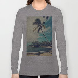Vintage Tropics Long Sleeve T-shirt
