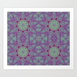 Geometric Stars Art Print
