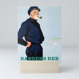 Randers Reb - Vintage Danish Poster Mini Art Print
