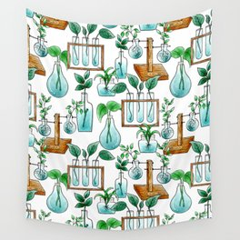 Plant Station Wall Tapestry
