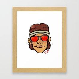 The Coolest Dude Framed Art Print