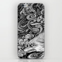 Swamp witch iPhone Skin