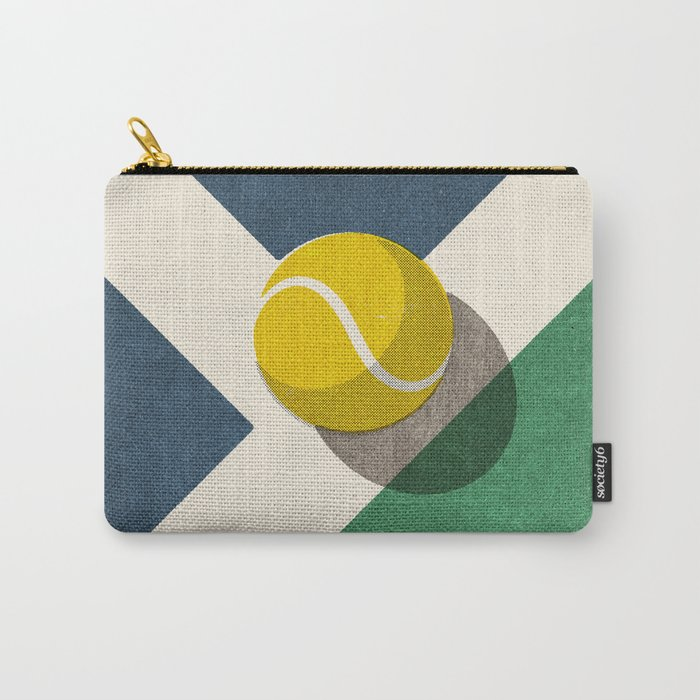 BALLS / Tennis (Hard Court) Carry-All Pouch