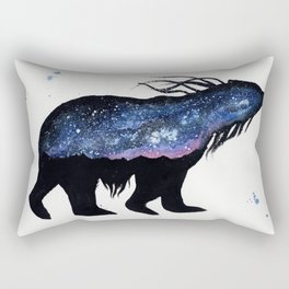 Milky Way Bear Rectangular Pillow
