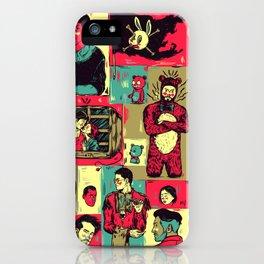 Random_things06.jpg iPhone Case