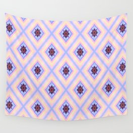 Diamonds Of Sunset Wall Tapestry