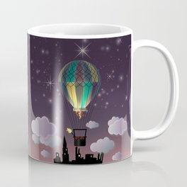 Balloon Aeronautics Night Coffee Mug