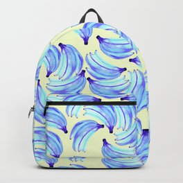 Bananas in blue Backpack