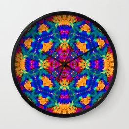 Ornament, ethnic, geometric 11 Wall Clock
