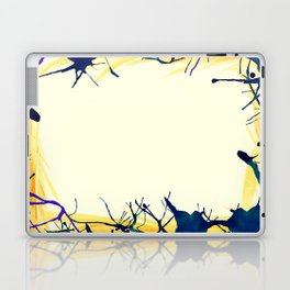 Ink border Laptop & iPad Skin