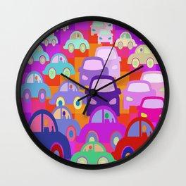 La La Land Commuters Wall Clock