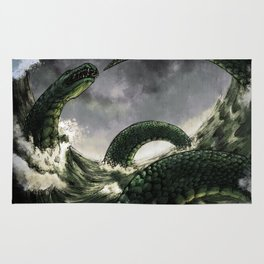 The Midgard Serpent Rug