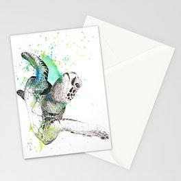 Sea Turtle I Stationery Cards