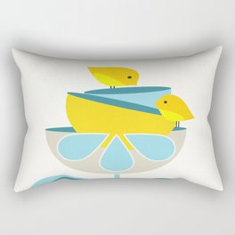 Birdies #society6 #buyart #decor Rectangular Pillow