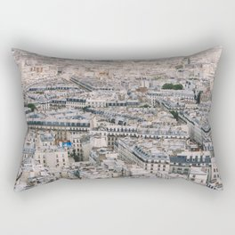 Paris City View from Sacre Coeur Rectangular Pillow
