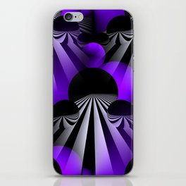 3D - abstraction -120- iPhone Skin