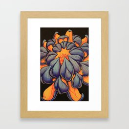 BlueLotus Framed Art Print