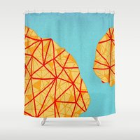 detroit Shower Curtains featuring - detroit - by Magdalla Del Fresto