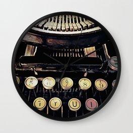 backspace Wall Clock