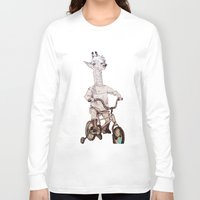 chile Long Sleeve T-shirts featuring where you be chile? by Asia Fuse Dirty Tease