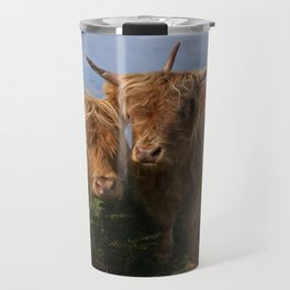 Highland Cows Travel Mug