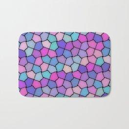 Multicolor Pattern Bath Mat