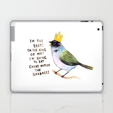 trash bird self affirmations Laptop & iPad Skin
