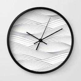 Smooth Japanese Wave Wall Clock