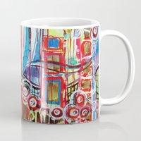 coasters Mugs featuring Roller Coaster by Pajaritaflora