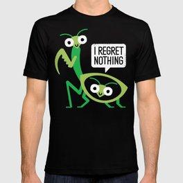 When a Mantis Loves a Woman T-shirt
