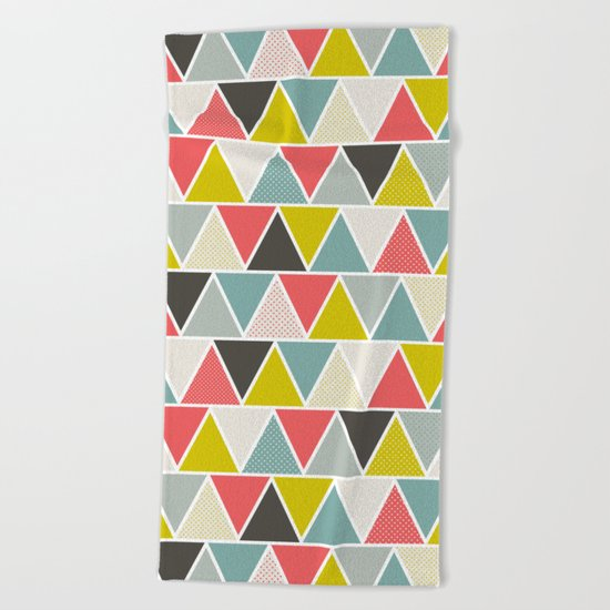 Triangulum Beach Towel