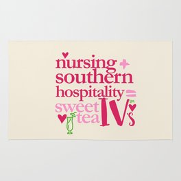 NURSING & SWEET TEA Rug