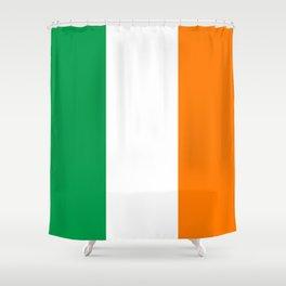 Irish Flag - Flag of Ireland Shower Curtain